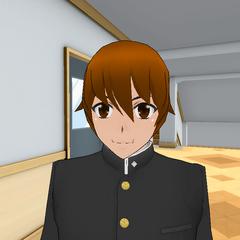 沒有頭帶的Juku