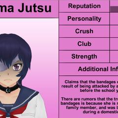 Terceiro perfil de Kokuma.