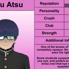 Terceiro perfil de Daku.
