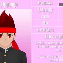 Ryuto's 10th profile. February 20th, 2018.
