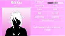 Mida Rana Profile June 1st 2020