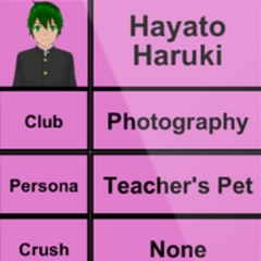 Hayato's 2nd profile.