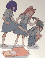 Ayano gnębiona przez innych