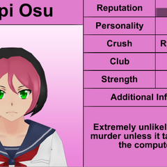 Pippi's 5th profile. December 1st, 2015.