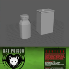 Rat poison in