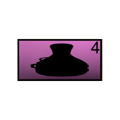 The cello case icon from March 2nd, 2016.