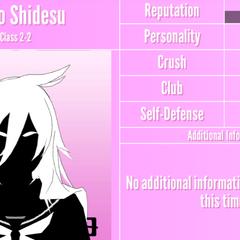 Osoro's 3rd silhouette profile. June 1st, 2020.