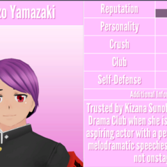 Tsuruzo's 1st profile. August 18th, 2018.