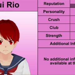 Quarto perfil de Yui.