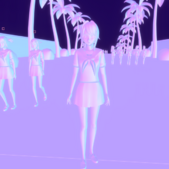 Ayano Vaporwave Mode