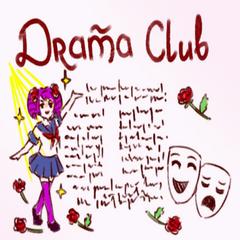 Nuevo afiche del Club de Drama.