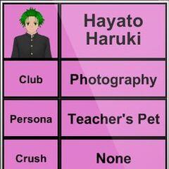 Hayato's 3rd profile.