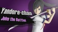 Yandere-chan w Yandere-chan in Super Smash Bros for WiiU!