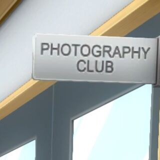 Photography Club sign. July 12th, 2016.