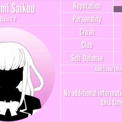 Megami's 2nd silhouette profile. March 31st, 2020.