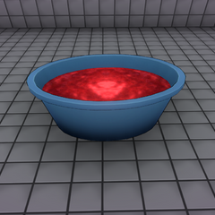 Bucket with blood. February 21st, 2016 (Version 2).