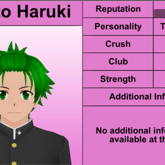 Hayato's 6th profile.