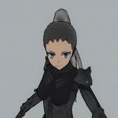 沒有頭盔的Cyborg Mode