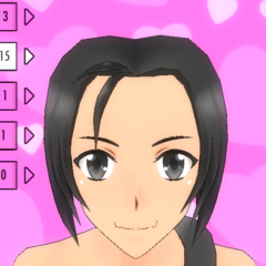 Hair Style #15 (Side Ponytail)