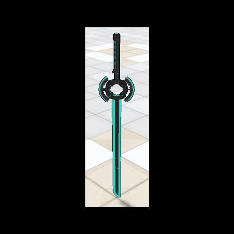 Espada de energía.