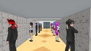 Учащиеся и их шкафчики (2)