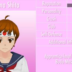 Shima's 6th profile. June 1st, 2016.