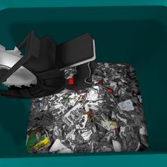 垃圾桶內的圓鋸 [05/03/2016]