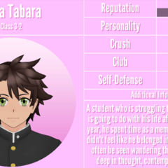 Toga's 2nd profile. January 17th, 2019.