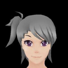 Um dos modelos que Druelbozo tem feito usando o cabelo de Yui.