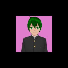 Primeiro retrato de Hayato.
