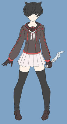 Yandere game player character no buttons ver by aea-d7f7xis