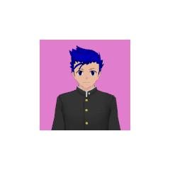 Terceiro retrato de Ryusei.