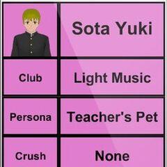Sota's 4th profile.