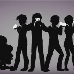 Dafuni y los otros miembros en la atmósfera baja vistos en el mismo vídeo.
