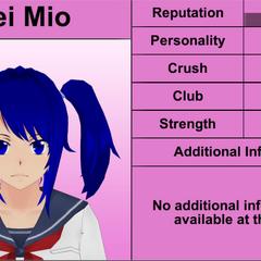 Sexto perfil de Mei.
