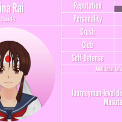 Mina's 8th profile. September 1st, 2019.