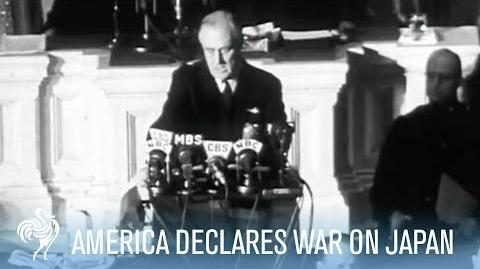 President Franklin D. Roosevelt Declares War on Japan (Full Speech) - War Archives
