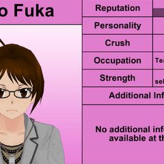 Rino Fuka's 7th profile (bugged). March 31st, 2016.