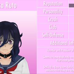 Oka's 6th profile. June 1st, 2016.