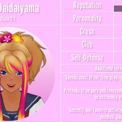 Hana's 3st profile. November 19nd, 2019.