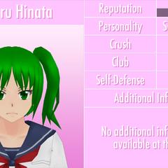 Nono perfil de Koharu.