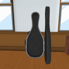 Empty Cello case. May 7th, 2016
