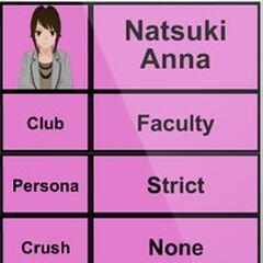 Natsuki's 1st profile.