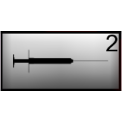 The syringe in Yandere-chan's inventory.