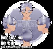 Модель причёски Кенчо (by ValGao)