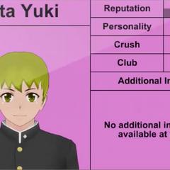 Sota's 5th profile.
