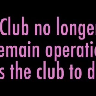The Occult Club closing if there are less then five members.