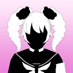 Kizana's 2nd silhouette portrait. March 31st, 2020.