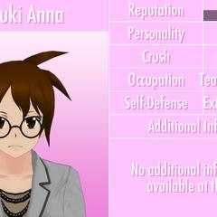 Natsuki's 8th profile. June 1st, 2016.