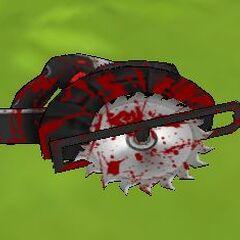 A bloody circular saw.